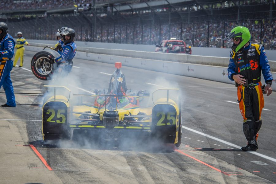 Wilson Complete's ROP, First Laps at Indianapolis Motor Speedway