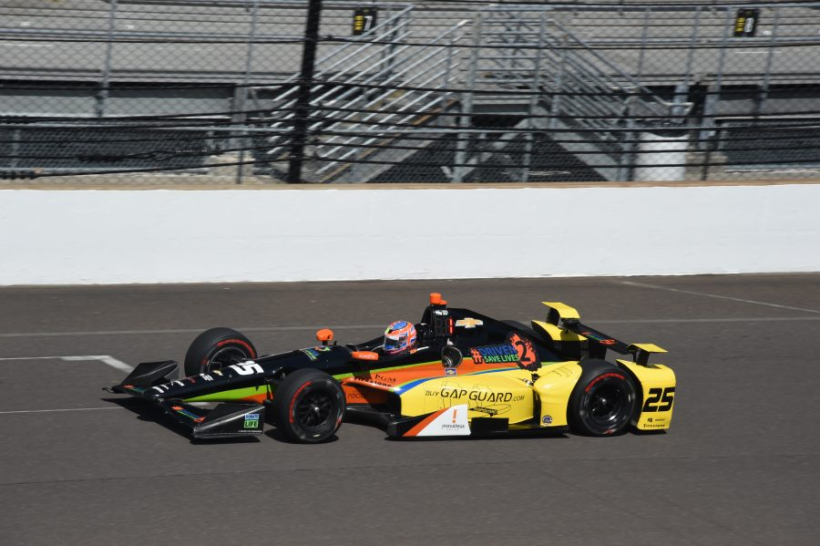Stefan Wilson closing on 2018 Indy 500 deal