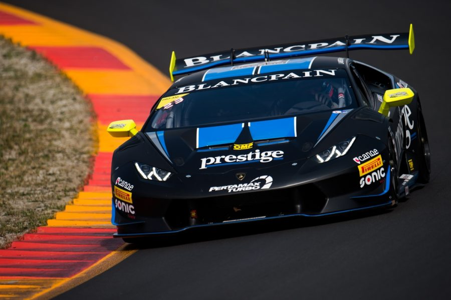 Stefan Wilson Impressive In First Lamborghini Super Trofeo Outings