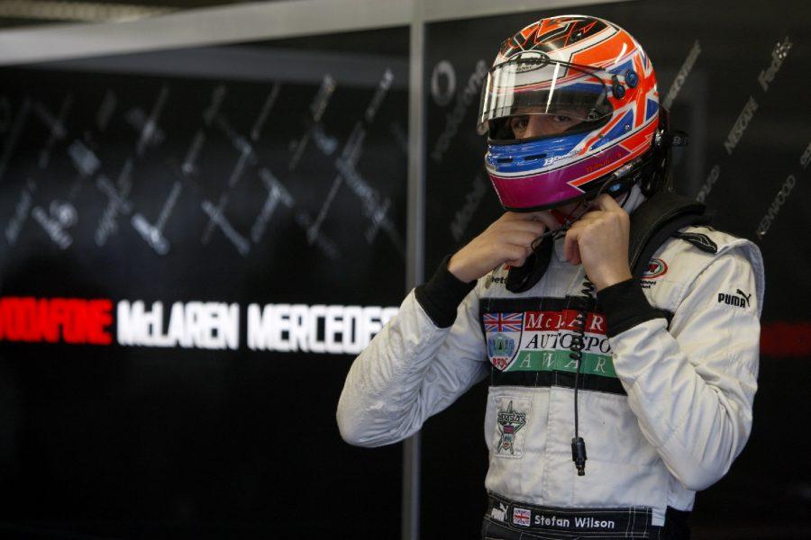 Wilson Gets Prize Formula 1 Test